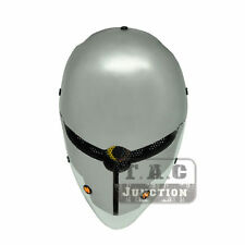 Tactical Airsoft Paintball Wire Mesh Protection Full Face Mask - Gray Fox