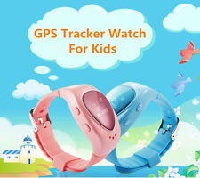 Real Time GPS Tracker Watch for Children Kids Elderly Android IOS Anti-lost