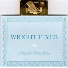 Janes Register in Edelmetall:Wright Flyer
