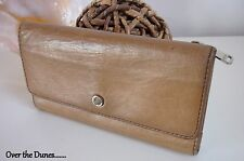 FOSSIL WALLET TAN BROWN LEATHER PURSE LONG LIVE VINTAGE FOSSIL LADIES WALLET