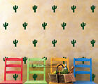 50 pcs Cactus Kids Room Wall Stickers Nursery Decor Decal Art Mural Removable AU