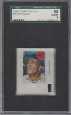 1969 Topps Decals Maury Wills SGC 8 NM/MT