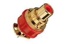 2 x WBT-0201 classic Cinchbuchse vergoldet RCA female plug gold plated