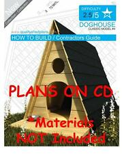 DOG HOUSE PLANS - Step By Step CAD Drawings - How To Build a Doghouse Guide - 04