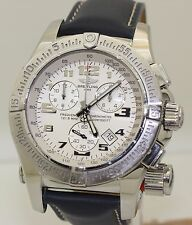 2006 Stainless Steel Breitling Emergency Mission A73322 & Papers