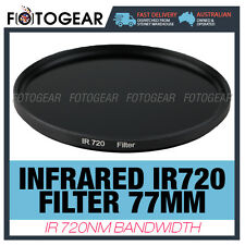 Infrared Filter 77mm IR720 R72 RM90 720nm Canon Nikon Sony Camera Lens DSLR New