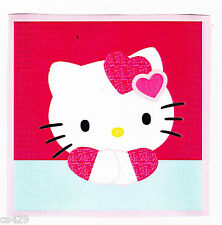 """4"""" HELLO KITTY  CHARACTER  PREPASTED WALL BORDER CUT OUT"""