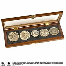 Official The Hobbit The Desolation of Smaug Dwarven Coin Set Noble Collection