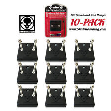 10-PACK SkateHoarding Pro Skateboard Wall Hanger Mount Rack Display All Boards!