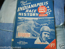 FLOYD CLYMERS INDIANAPOLIS 500 1947 MAURI ROSE BLUE CROWN SPECIAL TED HORN MOORE