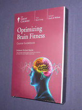 Teaching Co Great Courses DVDs        OPTIMIZING BRAIN FITNESS      new & sealed