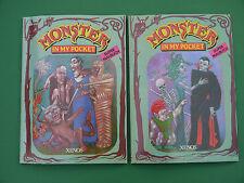 2er Set Monster in my pocket Super Malbuch 1992 Xenos