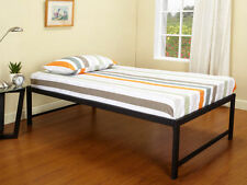 black metal twin size platform day bed daybed frame new