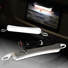 Xenon White 6K 12-LED Bolt-On Car Truck License Plate Light DRL Lamp Universal 3