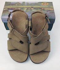 $153.00 SAS SAN ANTONIO SHOEMAKERS COMFORT SHOES SANDALS  HUGGY TAUPE SIZE 7 N