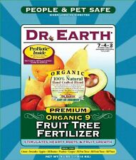 Dr. Earth 708P Organic 9 Fruit Tree Fertilizer In Poly Bag, 4-Pound , New, Free