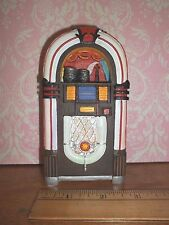 MINIATURE JUKE BOX - RESIN - DOLL HOUSE MINIATURE