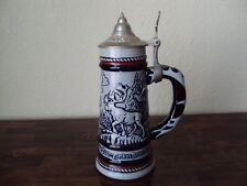 1976 Avon Beer Stein With Animal Design