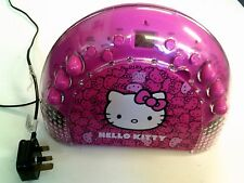 Hello Kitty CD Radio Player, Tested, Trusted Ebay Shop