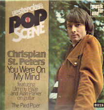 "12"" Chrispian St. Peters Yesterday`s Pop Scene (You Were On My Mind) 70`s DECCA"
