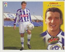 COLOCA # CUBILLO # ESPANA RC.RECREATIVO LIGA 2003 ESTE STICKER CROMO