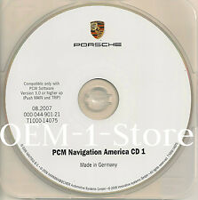 03 04 PORSCHE CAYENNE S TURBO SPORT UTILITY NAVIGATION CD MAP 1 NORTHWEST CANADA