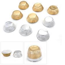 100/Set Papierbackförmchen Backform Muffinförmchen Muffin Kuchen 50x33mm Modisch
