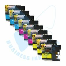 9 CLR LC203XL LC201 compatible Ink Cartridges for Brother printers with NEW CHIP