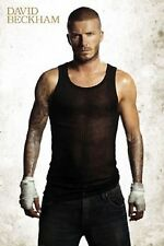 DAVID BECKHAM Poster - Sexy Celebrity Full Size 24x36 Print ~ Beckham Tattoo