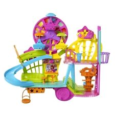 Polly Pocket Wall Party Mall On The Wall Playset With Ferris Wheel NEW