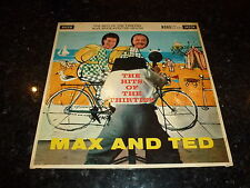 MAX BYGRAVES & TED HEATH - The Hits Of The Thirties - 1960 UK 12-track LP