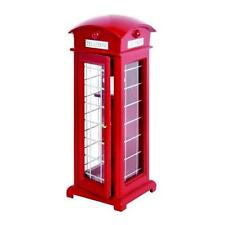 Traditional Red British Telephone Box 17cm x 6cm Dolls House Miniature Phone box