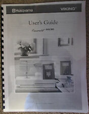Husqvarna Viking Emerald 183 203 Owners Users Operators Guide Manual Book