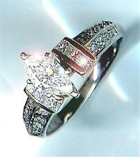 New 2.83CT Total Marquise Platinum Engagement Ring, priced below cost