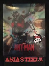 Ant-Man 2D+3D Lenticular Steelbook Novamedia Choice #8 Blu-Ray Mint (Sale)
