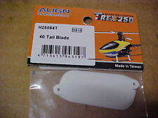 ALIGN HELICOPTER PART - H25064T = 40 TAIL BLADE : TREX 250  (NEW)