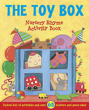 Nursery Rhyme Activity: The Toy Box (Sticker and Activity Book), , New Book