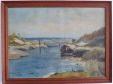 Escena de playa con Trabilla, Impresionista, 1. La mitad 20. Jh