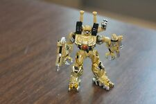 "3"" 2007 Hasbro Metal Transformer Action Figure Tan Brown"