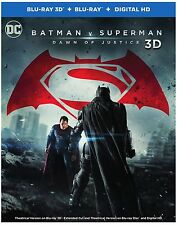 Batman v Superman: Dawn of Justice 3D (used) Blu-ray ** No Cover Art, No case