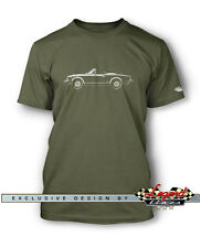 Fiat 124 Sport Spider 1974 - 1982 Men T-Shirt - Multiple Colors and Sizes