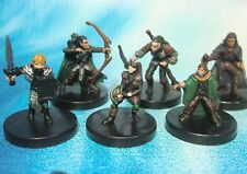 Dungeons & Dragons Miniatures Lot  Halfling Gnome Player Characters !!  s100