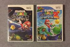 Super Mario Galaxy 1 & 2 Lot! (Wii/Wii U) Tested! Fast Shipping!