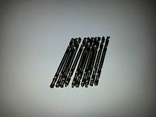 "10) 1/8""  inch double ended drill bits, these are the good made in USA ones 1/8"