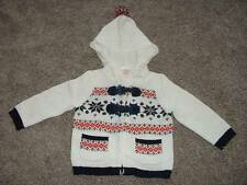 Gymboree Holiday Shop Hooded Sweater Fair Isle Size 6-12 months mos NWT NEW Baby