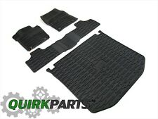 2016 JEEP GRAND CHEROKEE RUBBER SLUSH MATS FRONT REAR & CARGO AREA SET MOPAR