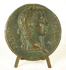 Médaille Empereur Tiber Caesar Tiberius Divi Augusti Filius Augustus 86mm medal