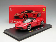 BBURAGO 18-36902 SIGNATURE SERIES FERRARI LAFERRARI NEW ENZO 1:43 DIECAST RED