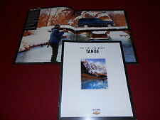 1997 CHEVROLET TAHOE SUV, 34-Page BROCHURE, CHEVY TRUCK SALES CATALOG