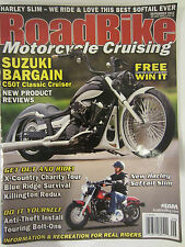 Road Bike Motorcycle Cruising Magazine September 2012 Harley V Star 950 Suzuki